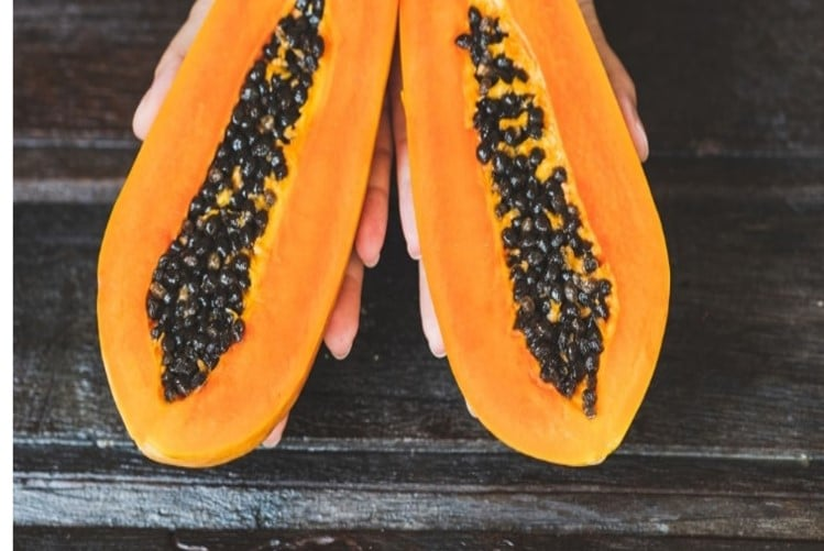 Papaya fruit Image